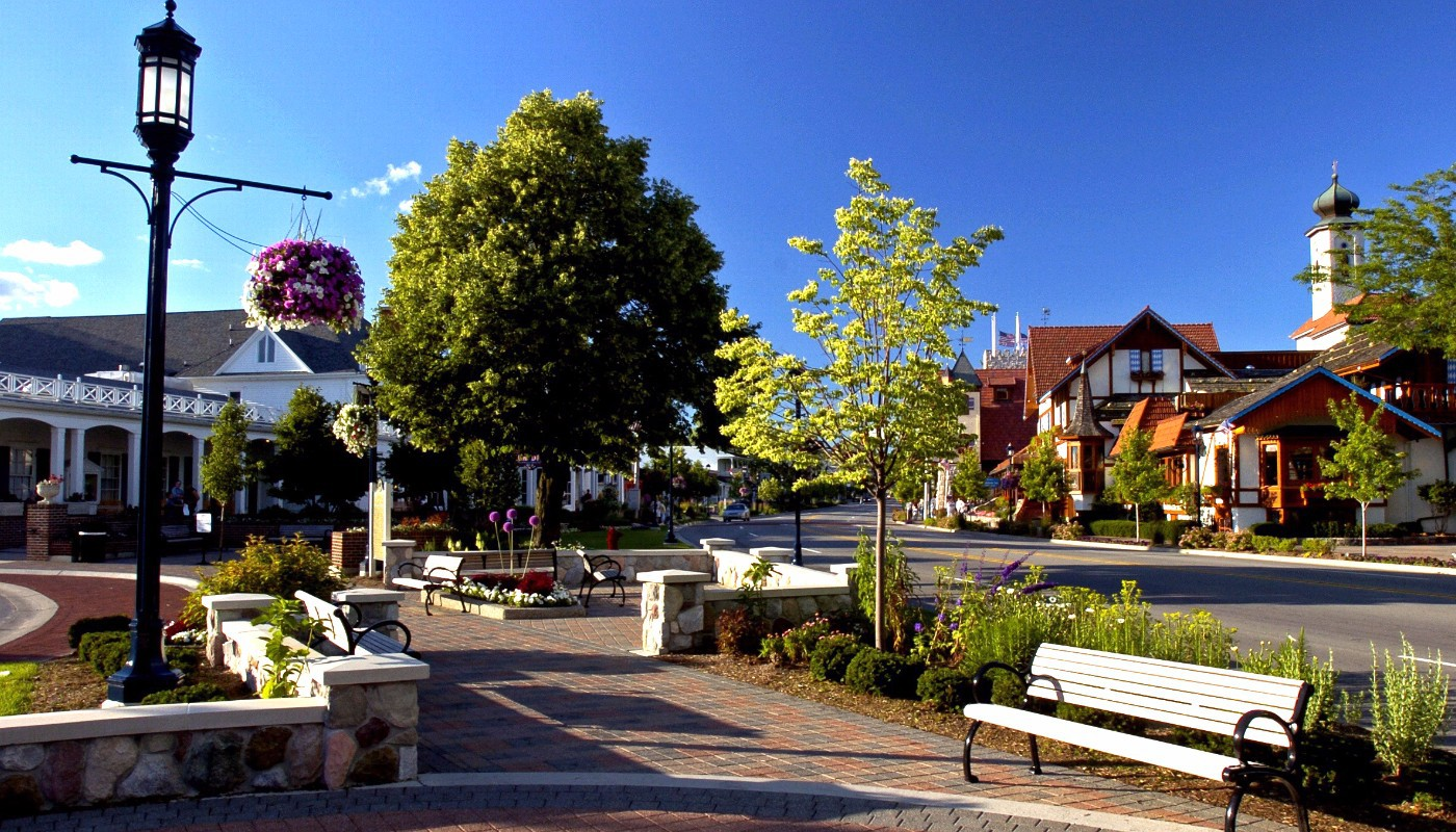 Frankenmuth Streetscape
