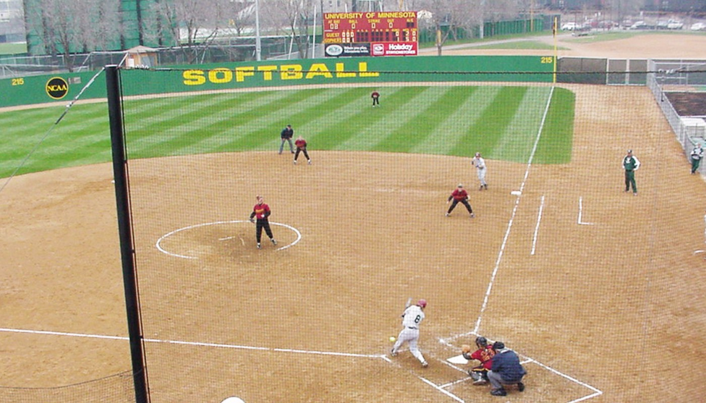 University Minnesota Soccer Softball